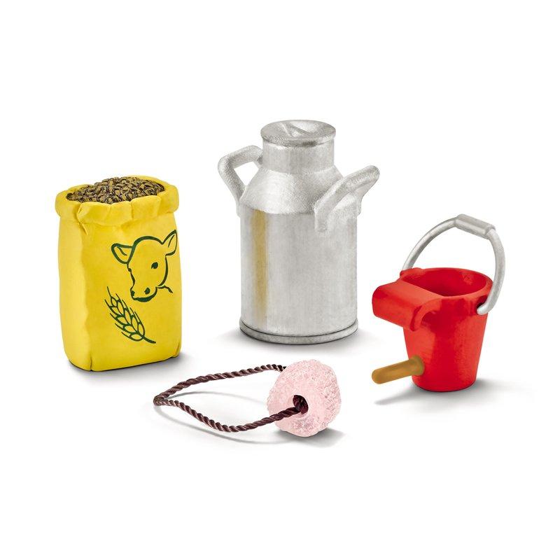Schleich Set accesorii Hrana Pentru Vaca si Vitel din categoria Figurine copii de la Schleich