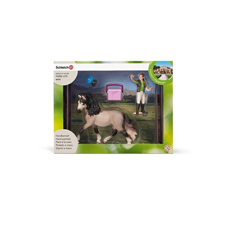 Schleich Set Cal Andalusian din categoria Figurine copii de la Schleich
