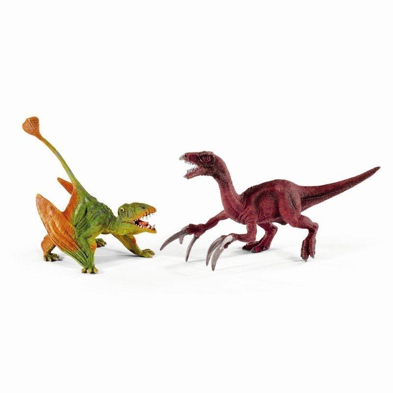 Schleich Set Dimorphodon And Therizinosaur Mic