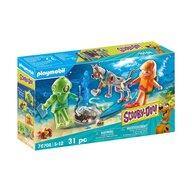Playmobil - Set de constructie Aventuri cu fantoma scafandru , Scooby Doo