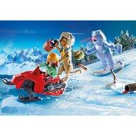 Playmobil - Set de constructie Aventuri cu fantoma zapezii , Scooby Doo