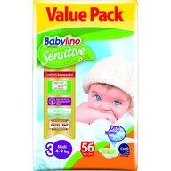 Babylino - Scutece Sensitive Economy N3 4-9 kg/56buc