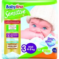 Babylino - Scutece Sensitive N3 4-9kg/22 buc