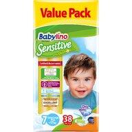 Babylino - Scutece Sensitive Valuepack, N7, 17+ kg, 38 buc