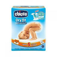 Chicco - Scutece  Dry Fit Advanced Junior, nr.5, 12-25kg, 17buc