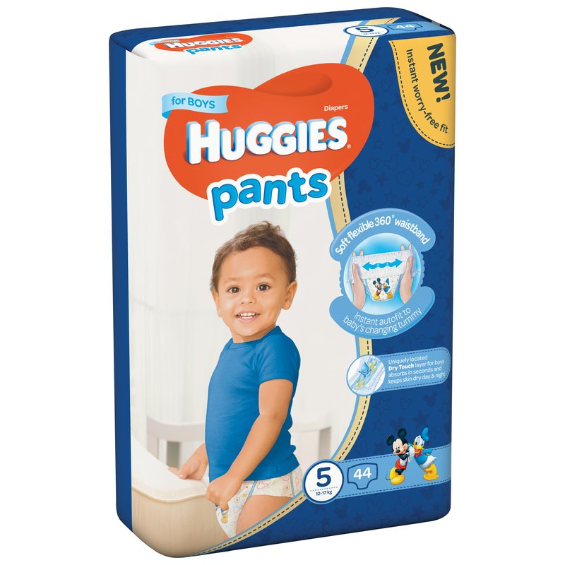 Scutece-chilotel Huggies Mega Pants (nr 5) Boy 44 buc 12-17 kg