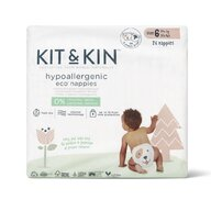 Kit&Kin - Scutec Hipoalergenic Eco 26 buc, De unica folosinta, 14 kg +, nr6