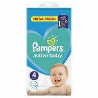 Pampers - Scutece Active Baby 4, Mega Box, 132 buc