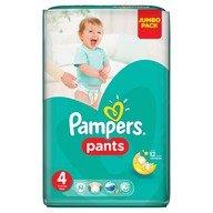 Scutece Pampers Active Baby Pants 4 Jumbo Pack 52 buc