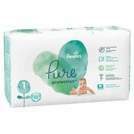 Pampers - Scutece Pure 1, Carry Pack, 35 buc
