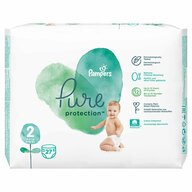 Pampers - Scutece Pure 2, Carry Pack, 27 buc
