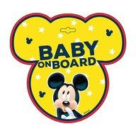Seven - Semn de avertizare Baby on Board Mickey