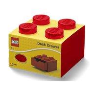 Lego - Cutie depozitare Sertar de birou 2x2  Rosu