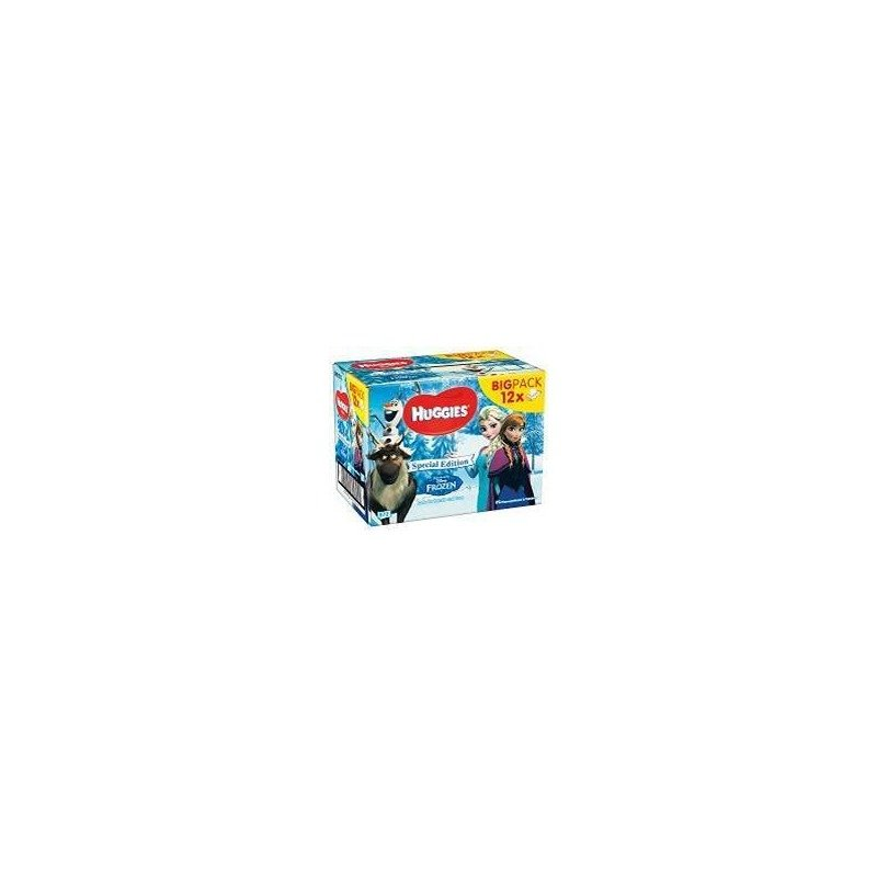 Servetele umede bebelusi Huggies BW Disney Frozen 12 pack (56X12) din categoria Scutece bebelusi de la Huggies