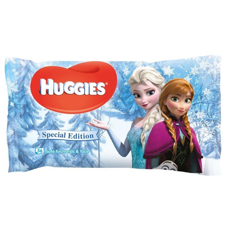 Servetele umede bebelusi Huggies BW Natural Care 56 Disney Frozen din categoria Scutece bebelusi de la Huggies