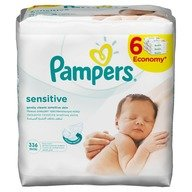 Servetele umede Pampers Sensitive 6*52 buc