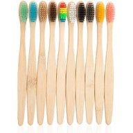 In One - Set 10 periute de dinti din bambus   IO022