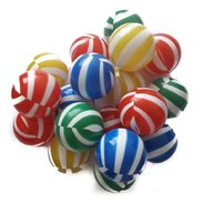 Super Plastic Toys - Set 100 bile Colour Stripes