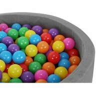 Malatec - Set bile Colorate 100 buc din Plastic