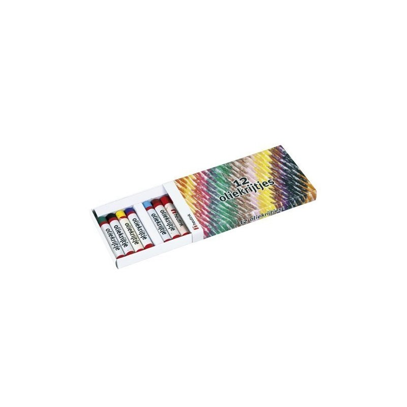 Heutink Set 12 creioane colorate pe baza de ulei – Heutink din categoria Pictura si desen de la Heutink
