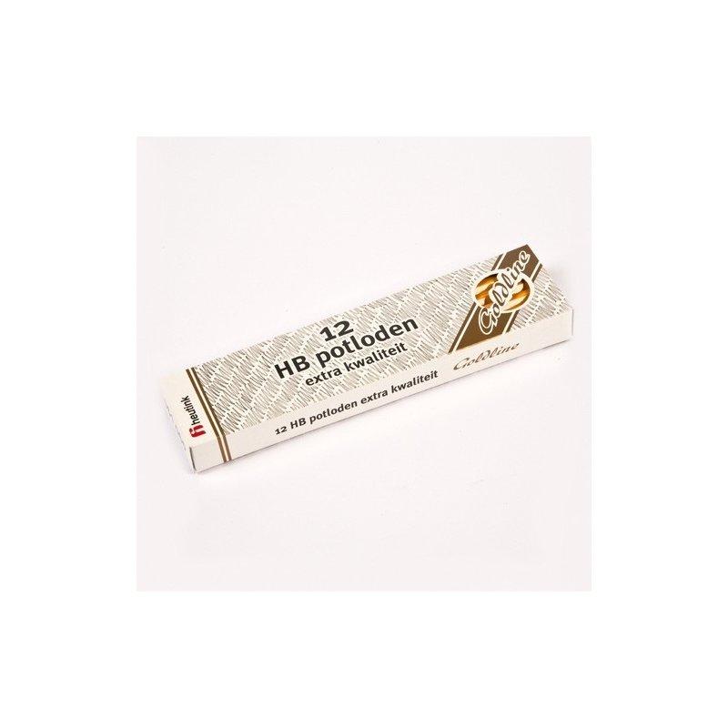 Heutink Set 12 creioane Goldline HB din lemn galben – Heutink din categoria Pictura si desen de la Heutink