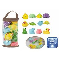Bo Jungle - Set 12 jucarii de baie pentru bebelusi