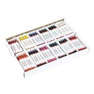 Heutink - Set 144 creioane de ceara in culori asortate -