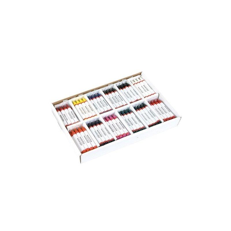 Heutink Set 144 creioane de ceara in culori asortate – Heutink din categoria Pictura si desen de la Heutink