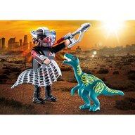 Playmobil - Set figurine Dinozaur si cercetator