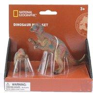 National Geographic - Set 2 figurine, Pachycephalosaurus