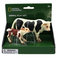 National Geographic - Set 2 figurine, Taur si vitel