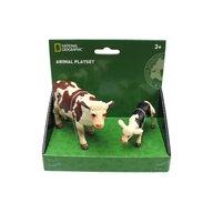 National Geographic - Set 2 figurine, Vacuta si vitel