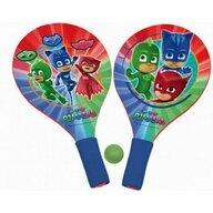 Saica - Set palete Pentru plaja, Cu minge inclusa Disney Pj Masks din Lemn