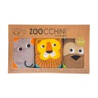 ZOOCCHINI - Set Chilotei Antrenament baiat 3 buc, Din 100% Bumbac organic Safari, Scutec textil