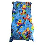Deseda - Set 3 piese paturica cu cearsaf si pernuta 140x70 cm Aiurila pe albastru