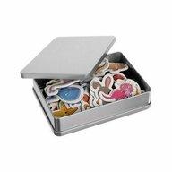 Iso Trade - Joc magnetic Animale 42 piese, Pentru frigider