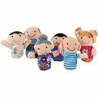 Iso Trade - Set marionete Familia 6 piese