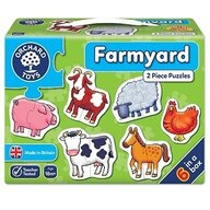 Orchard Toys - Set 6 puzzle Ferma, 12 piese