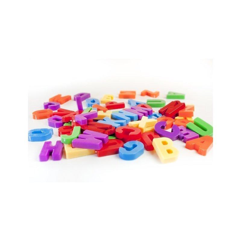 Miniland Set 66 litere mari magnetice – Miniland din categoria Jucarii educative de la Miniland