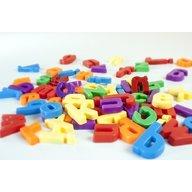Miniland - Set 66 litere mici magnetice -