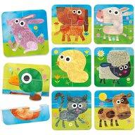 Headu - Puzzle educativ Progresiv 8 in 1 Puzzle Copii, piese 28
