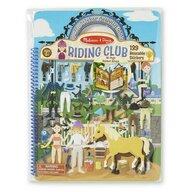 Melissa & Doug - Set abtibilduri Clubul de calarie Pufoase