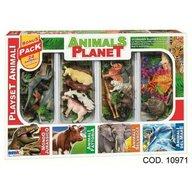 RS Toys - Set figurine In cutie, Cu accesorii, 24 animale