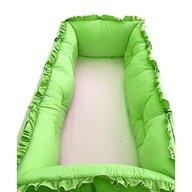 Deseda - Set aparatori protectii laterale Super groase  pat 120x60 cm  - Verde