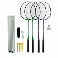DHS - Set badminton 4 rachete