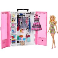 Papusa Barbie Set Dulap Cu haine by Mattel Fashion and Beauty