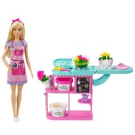 Barbie - Set de joaca Florarie Cu accesorii, Cu papusa by Mattel