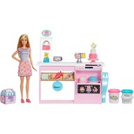 Papusa Barbie Set cu cofetarie GFP59 by Mattel I can be