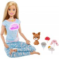 Papusa Barbie Mediteaza by Mattel Wellness and Fitness