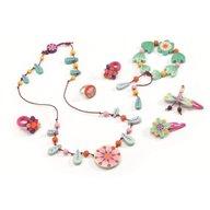 Djeco - Set bijuterii Florile paradis